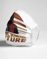 Barack To The Future Cloth face mask aos-face-mask-lifestyle-21