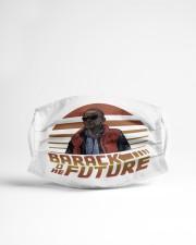 Barack To The Future Cloth face mask aos-face-mask-lifestyle-22