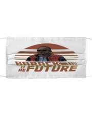 Barack To The Future Cloth face mask front