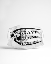 Be brave be strong Cloth face mask aos-face-mask-lifestyle-22