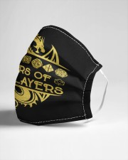 Tears of my Players Cloth face mask aos-face-mask-lifestyle-21