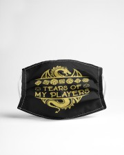 Tears of my Players Cloth face mask aos-face-mask-lifestyle-22