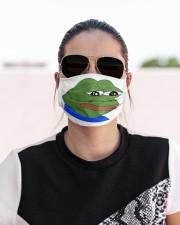 Sad Pepe Cloth face mask aos-face-mask-lifestyle-02