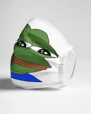 Sad Pepe Cloth face mask aos-face-mask-lifestyle-21