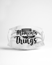 Collect moments not things Cloth face mask aos-face-mask-lifestyle-22