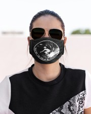 Surfing Alien Cloth face mask aos-face-mask-lifestyle-02