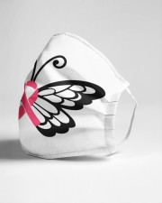 Butterfly cancer Cloth face mask aos-face-mask-lifestyle-21
