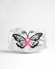 Butterfly cancer Cloth face mask aos-face-mask-lifestyle-22