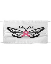 Butterfly cancer Cloth face mask front