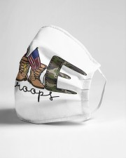 Love our troops Cloth face mask aos-face-mask-lifestyle-21