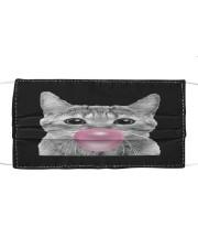 Cat Bubblegum Cloth face mask front