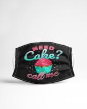 Need cake call me Cloth face mask aos-face-mask-lifestyle-22