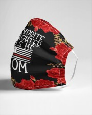 My favorite firefighter Cloth face mask aos-face-mask-lifestyle-21