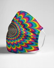 Psychedelic rock Cloth face mask aos-face-mask-lifestyle-21
