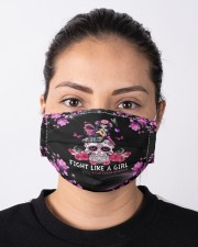 Fight Like A Girl Cloth face mask aos-face-mask-lifestyle-01