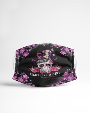 Fight Like A Girl Cloth face mask aos-face-mask-lifestyle-22
