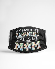 My favorite paramedic Cloth face mask aos-face-mask-lifestyle-22