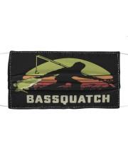 Sasquatch Cloth face mask front
