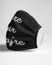 Grammar Nerd Cloth face mask aos-face-mask-lifestyle-21