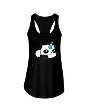 Always Be Pandacorn PANDACORN Shirt Cute Panda Lov Ladies Flowy Tank thumbnail