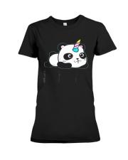 Always Be Pandacorn PANDACORN Shirt Cute Panda Lov Premium Fit Ladies Tee thumbnail