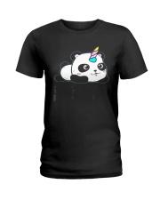 Always Be Pandacorn PANDACORN Shirt Cute Panda Lov Ladies T-Shirt thumbnail