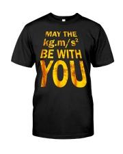 Best Physics Teacher Geeky Gifts Men Women Tee Shi Classic T-Shirt front