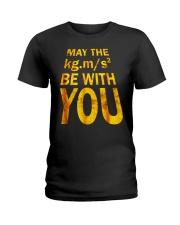 Best Physics Teacher Geeky Gifts Men Women Tee Shi Ladies T-Shirt thumbnail
