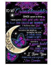 To my beautiful Granddaugter 11x17 Poster thumbnail