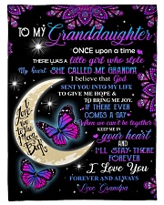 "To my beautiful Granddaugter Small Fleece Blanket - 30"" x 40"" front"