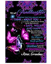 TO MY Granddaughter 11x17 Poster thumbnail