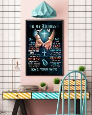 To my husband 11x17 Poster lifestyle-poster-6