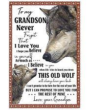 To my GRANDSON 11x17 Poster thumbnail