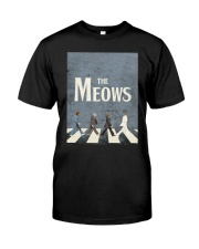 The Meows Classic T-Shirt front