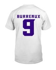 9 BURREAUX LSU TIGERS Classic T-Shirt back