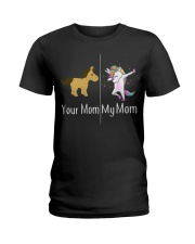 Unicorn Mom Ladies T-Shirt thumbnail