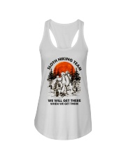 Sloth Hiking Team Ladies Flowy Tank thumbnail