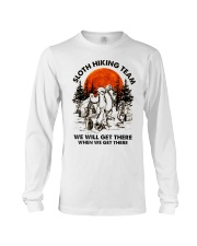 Sloth Hiking Team Long Sleeve Tee thumbnail