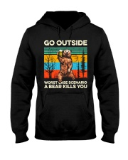 Go Outside Hooded Sweatshirt front