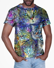 Colorful cats All-over T-Shirt aos-all-over-T-shirt-lifestyle-front-03