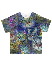 Colorful cats All-over T-Shirt front