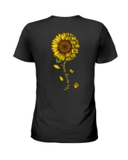 You are sunshine Ladies T-Shirt back