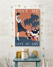 Love me love my cats 11x17 Poster lifestyle-holiday-poster-3