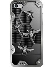 Bee Metal pattern print Phone Case i-phone-8-case