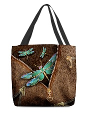 Dragonfly All-over Tote back