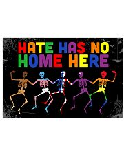 Hate has no home here Horizontal Poster tile