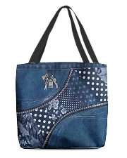 Fabric tote All-over Tote back