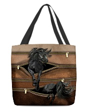 Horse Leather Pattern Print All-over Tote front