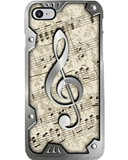 G-clef metal pattern print Phone Case i-phone-8-case