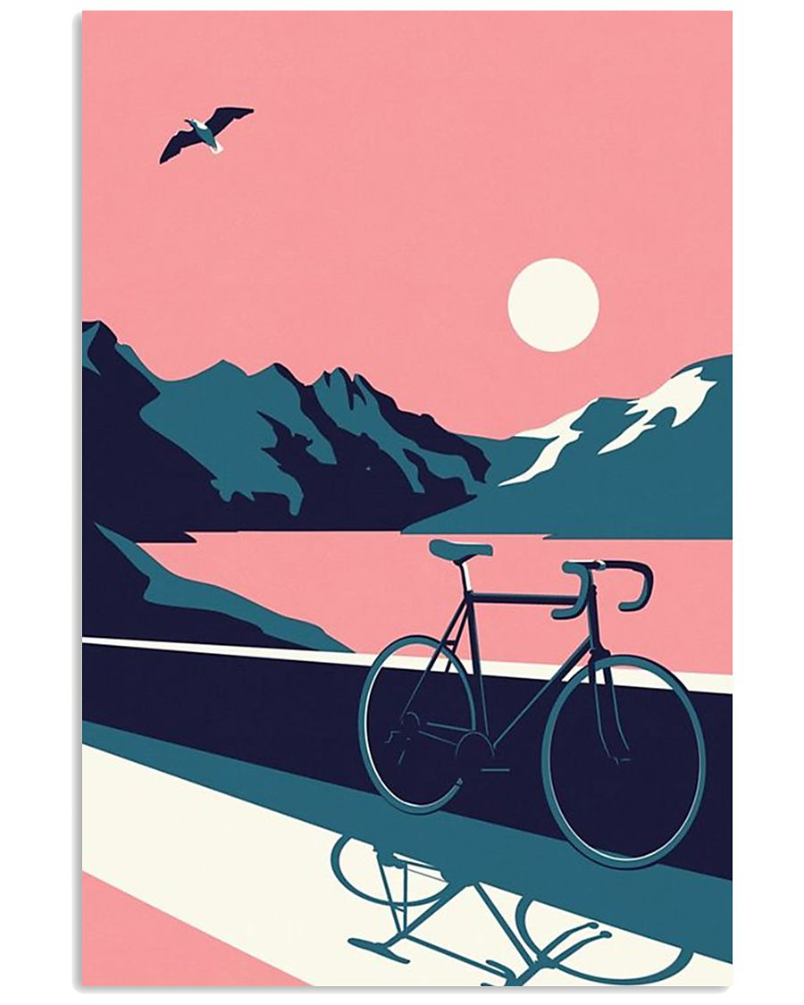 Vintage Bicycle 11x17 Poster